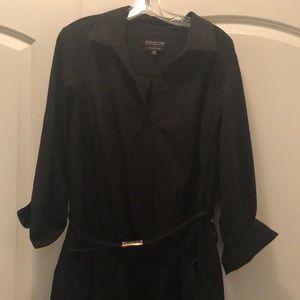Jones New York Dresses - Jones NY stretch Shirt Dress w/belt and pockets